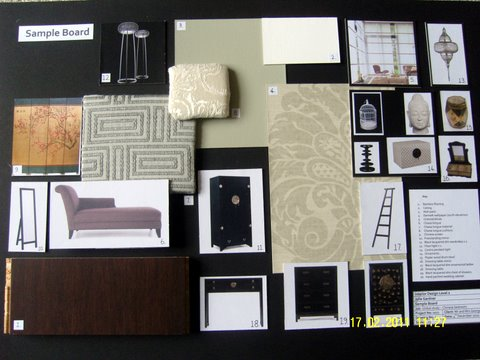 My Designs For A Chinese But Contemporary Bedroom