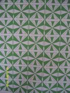 Green tea-towel