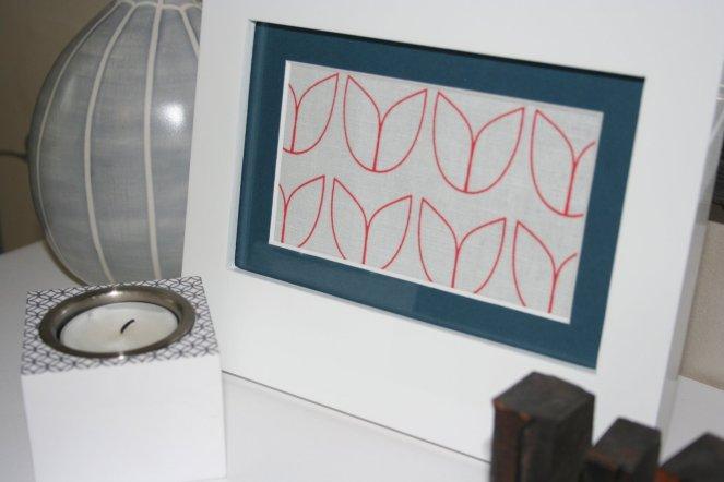 gilhoolie tulip in a frame