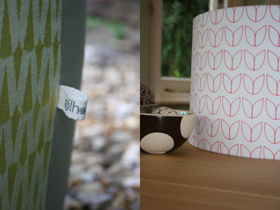 gilhoolie label and lampshade