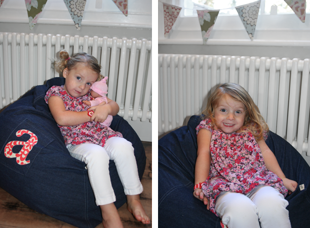Bunting and beanbag