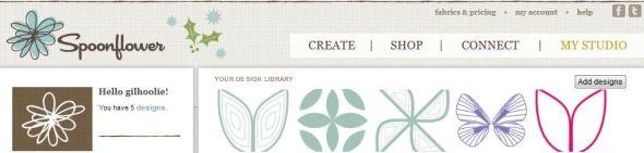 gilhoolie fabric designs on Spoonflower