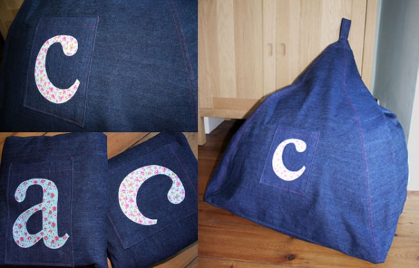 Girly beanbags for Christmas