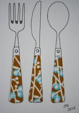 Heather Moore cutlery