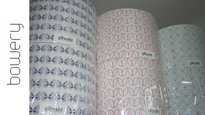 gilhoolie lampshades - butterfly, tulip and windmill