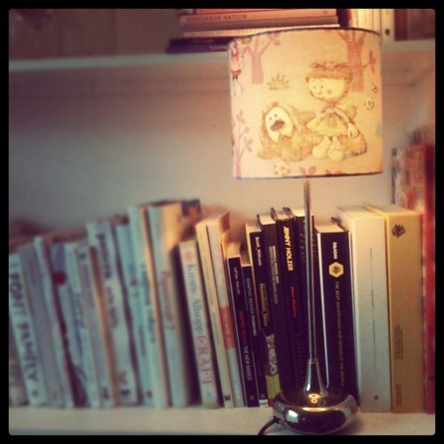 Magic Roundabout lampshade
