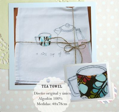 cup of tea tea towel recipe competition
