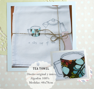 cup of tea tea towel recipe competition