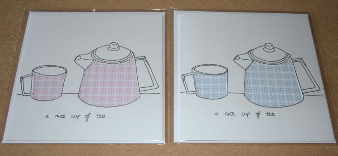Nice cup of tea cards