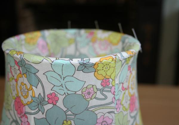 Close-up of my lampshade