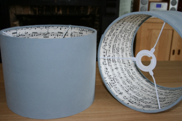 Musical lampshades!