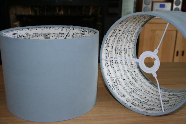 Musical lampshades!