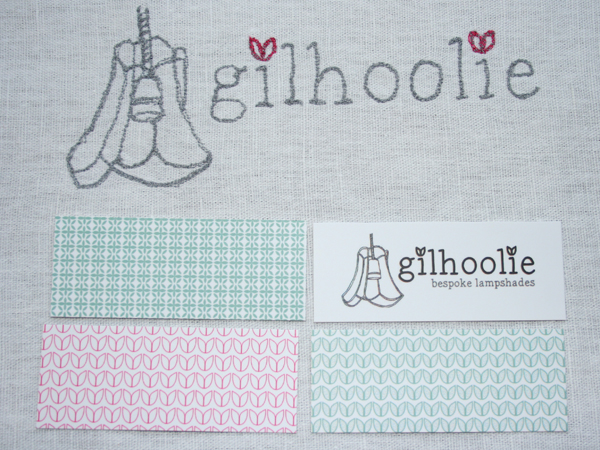 gilhoolie logo machine embroidered