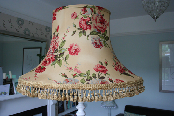 Big lampshade complete