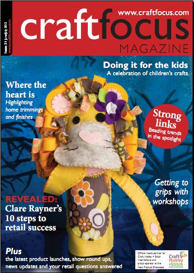 craft focus cover June_July 2012