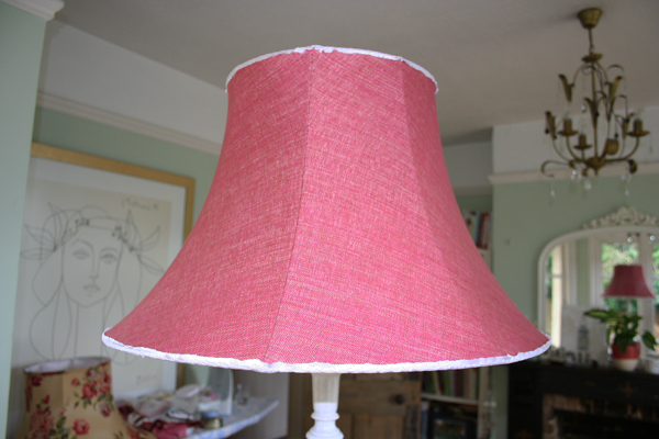 My first lampshade commission