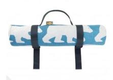 Anorak bear picnic blanket