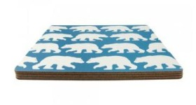 Anorak bear placemats