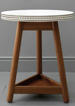 Bethan Gray G&T collaboration brogue side table