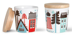 Isak Tingleby lidded cups