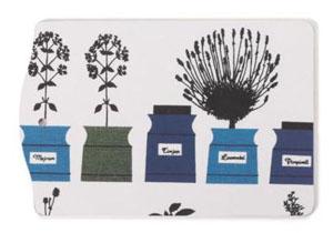 New House Textiles Astrid Sampe herb garden chopping board