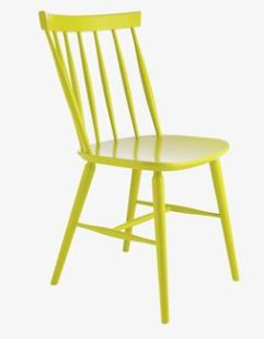 Habitat Talia chair in yellow