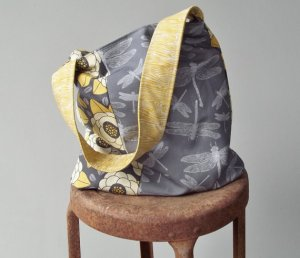 Retrofied dragonfly bag on etsy