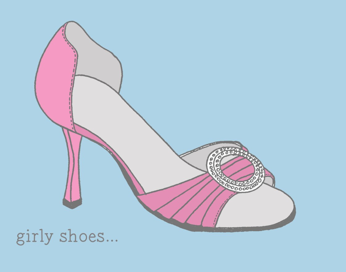 girly shoes
