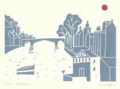 Guiliana Lazzerini river print