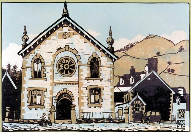 Ian Phillips house print