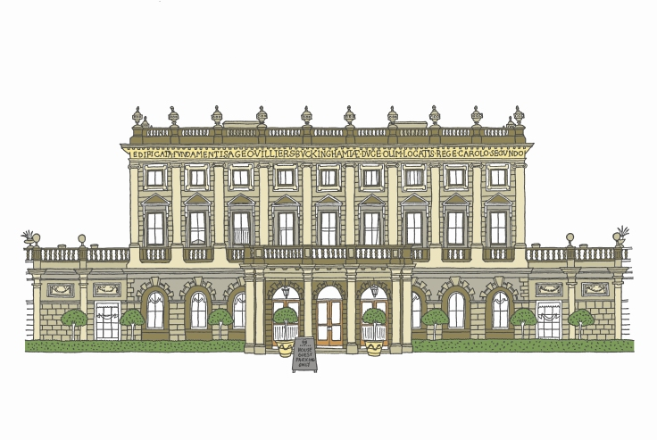 Cliveden House Drawing