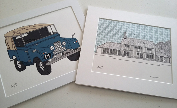 Amy-Sudlow-landrover-and-house