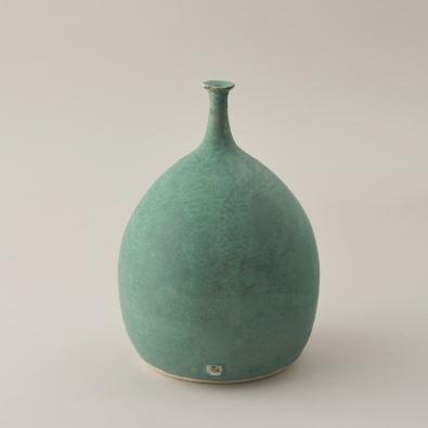 Handmade Chelsea 2019 Carolyn Tripp Ceramics green