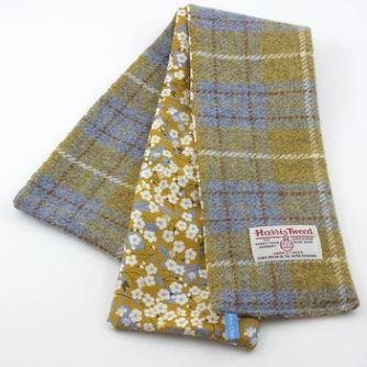 Handmade Chelsea 2019 Helen Chatterton Textiles herringbone scarf