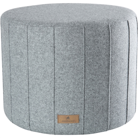 Top Drawer London Shepherd of Sweden wool pouf