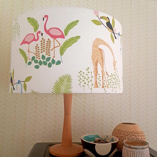 Tropicana lampshade
