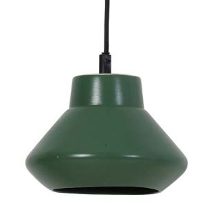 Dark green pendant from Light and Living
