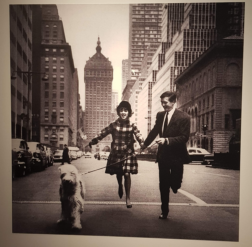 V&A Museum Mary Quant and Alexander Plunkett-Greene in New York