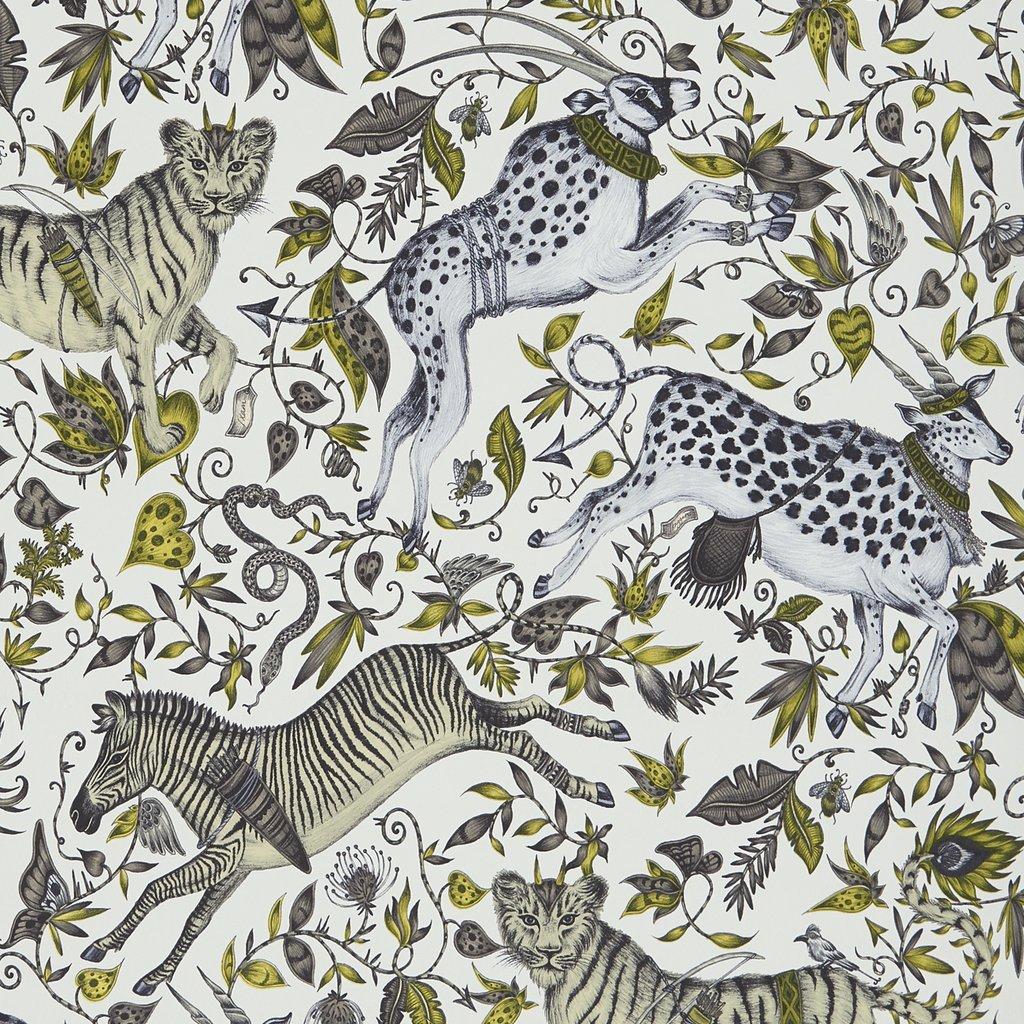 Protea wallpaper by Emma Shipley